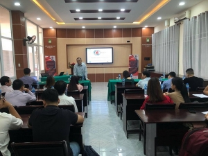 REACT 4th  Internal Replication Training at Hue University of Agriculture and Forestry (HUAF) – Impact of Climate Change on Forest Management and Observation techniques