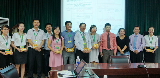 The delegation of Rajamangala Tawan-ok University, Thailand paid a working visit to HUAF