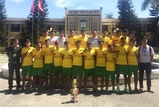 Student teams of HUAF have won the football and volleyball championships