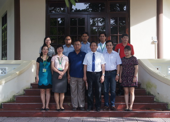 Sharing experiences with the Royal Academy of Agriculture, Cambodia
