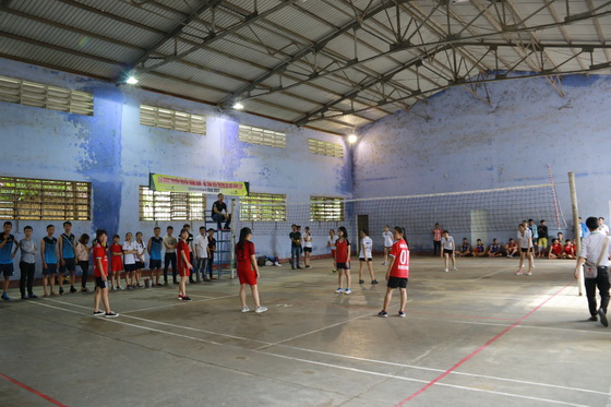 "The Traditional Volleyball Championship ""VIETCOMBANK CUP 2017"" for Male and Female students"