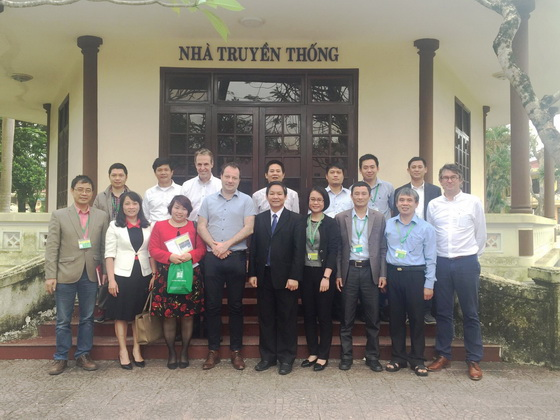 Meeting with Office of Medical Committee of Netherlands - Vietnam (MCNV)