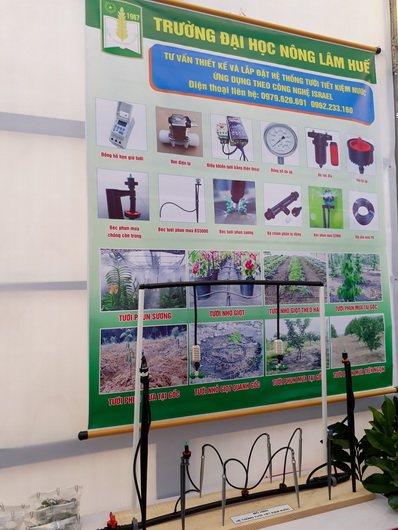 HUAF participated in the seminar on linking supply and demand of Thua Thien Hue province