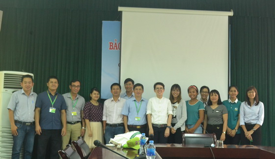 Meeting with Kasetsart University, Thailand