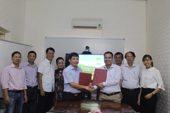 HUAF signed a cooperation with Nafoods Group